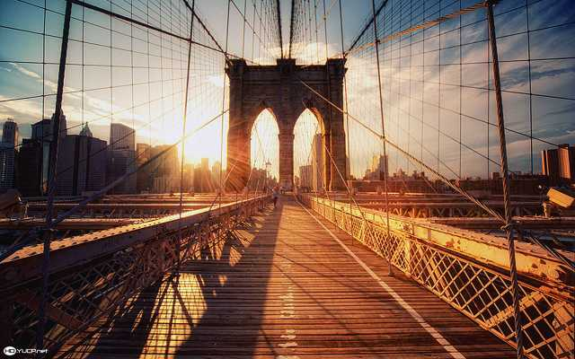 brooklyn-bridge-sunset-wallpaper-1