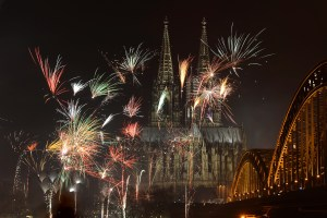 GERMANY-NEW-YEAR-FIREWORKS